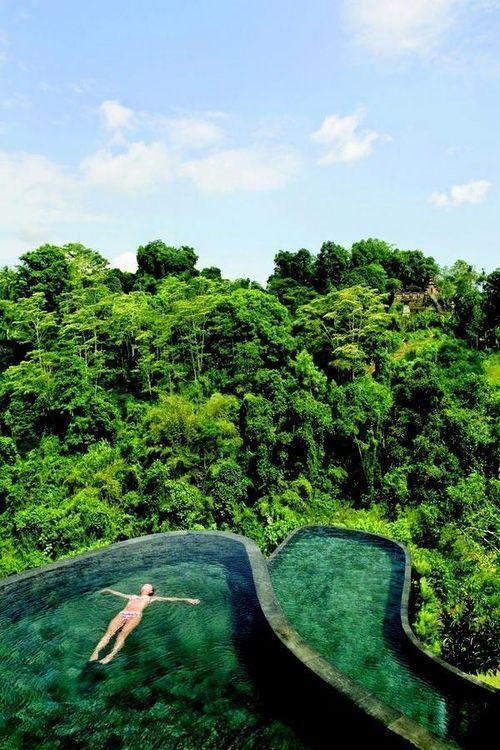 インドネシアのハンギング・ガーデンズ