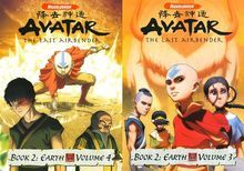 Avatar - The Last Airbender: Book 2 - Earth, Vols. 3 & 4 [2 Discs] [DVD]