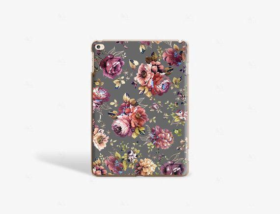 Floral iPad Air 2 Case Vintage Floral iPad Case iPad Air 4