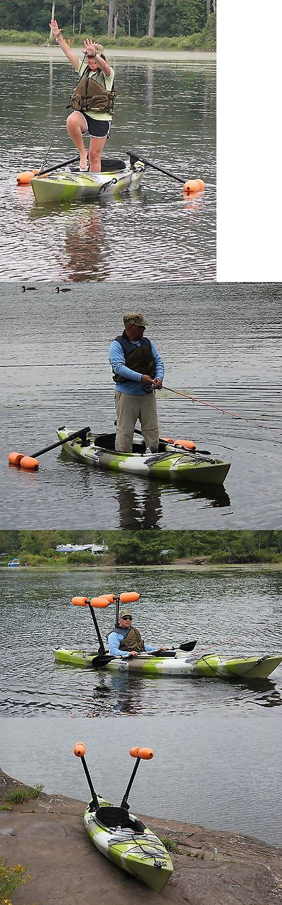 Accessories 87089: Kayak Or Canoe Outriggers / Stabilizers For Sight Fishing, Standing And Beginners BUY IT NOW ONLY: $148.95