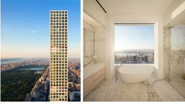 For the super rich living high above Manhattan, privacy isn't a concern.