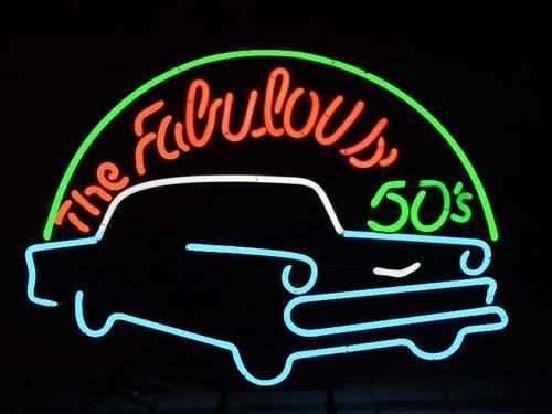Neon Sign: 50S Shoots, Neon Lights, 50S 60S, Neon Signs, Rolls 50S, Signs Neon, 60S Songs, Oldies Rocks, Rocks N Rolls