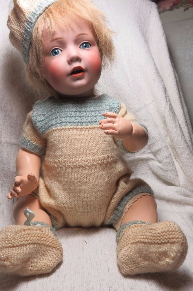 "ANTIQUE BISQUE GERMAN DOLL KESTNER HILDA 18"" ORIGINAL PATE CORRECT MARKINGS #HILDAmold245"