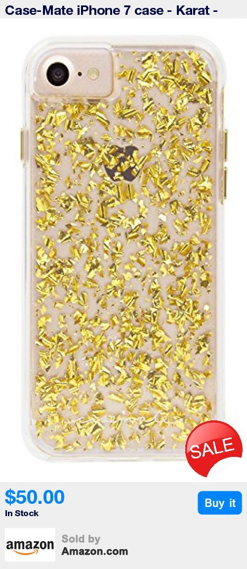 Certified Military Strength Impact Protection - drop tested to meet MIL-STD-810G standards * Fashion forward design includes genuine 24 karat gold flakes * Stylish metallic buttons and a transparent smooth finish create a sheek look to compliment your smartphone * A shock absorbing bumper helps protect your phone against impacts and falls * Includes a Case-Mate Lifetime Warranty