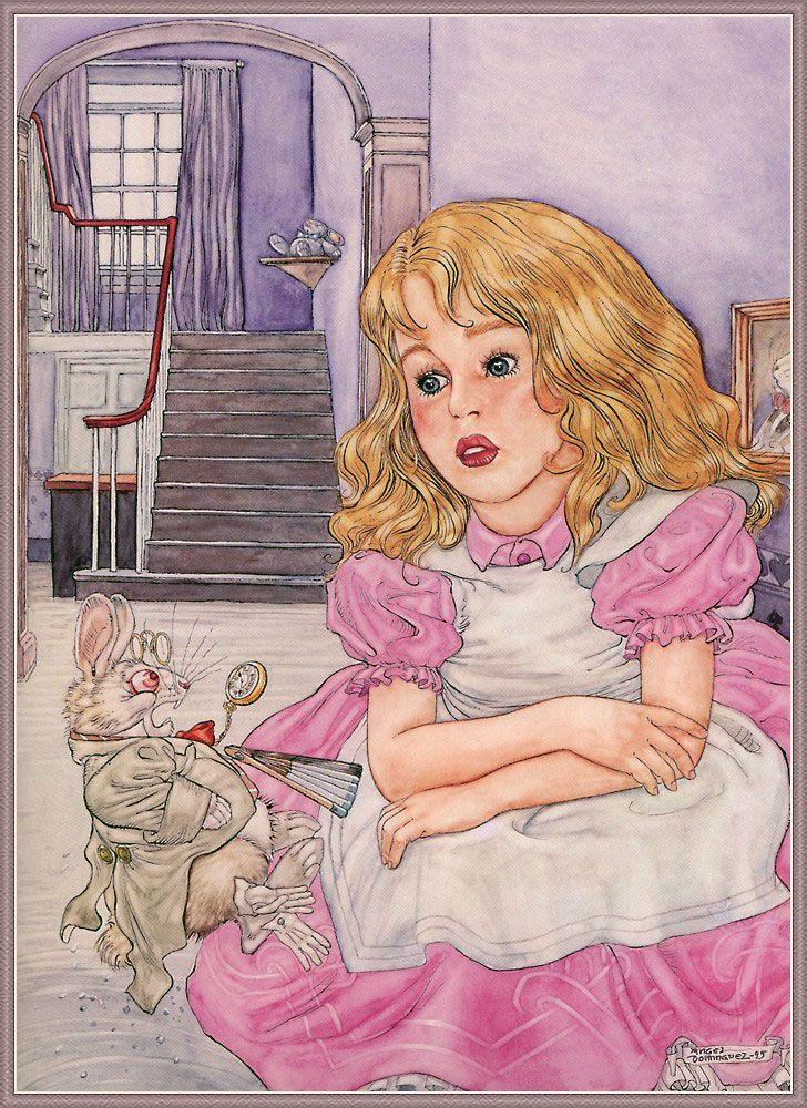 Alice in Wonderland by Angel Dominguez