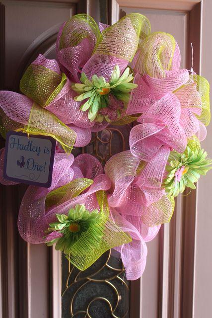 Wreath from a garden party  #gardenparty #wreath
