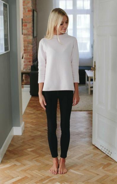 Sweterek ze stójką - Wszystkie - MLE Collection