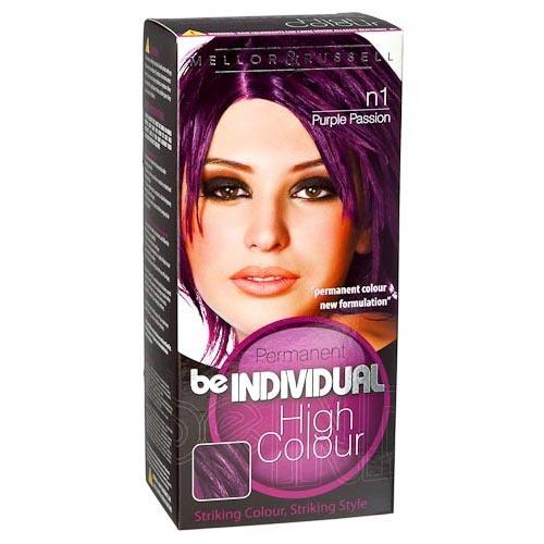 Be Individual Permanent Hair Colour Purple Passion