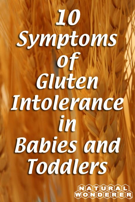 10 Symptoms of Gluten Intolerance in Babies and Toddlers -- Read it now at http://naturalwonderer.com/10-symptoms-of-gluten-intolerance-in-babies-and-toddlers/