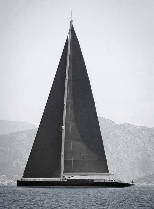 Sailboat - sleek - definitely a guy toy