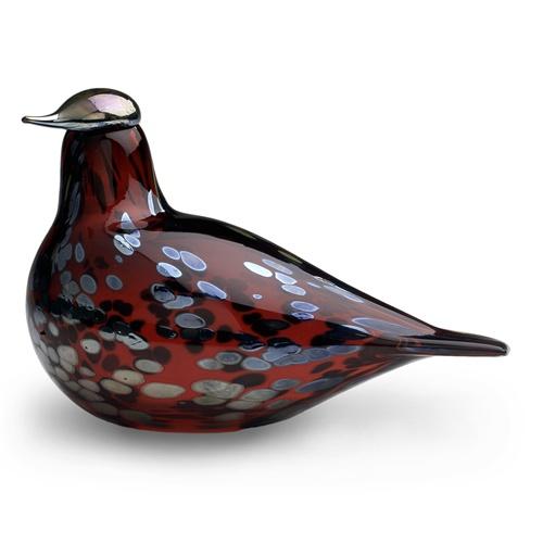 iittala Toikka Ruby Bird Glass Bird £149 Free Shipping