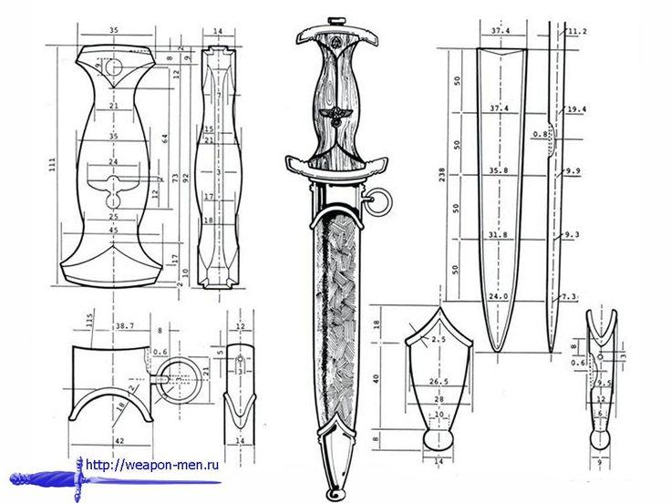 танто чертеж - Поиск в Google