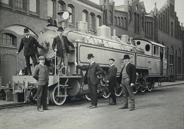 Delivery of New Train for Java Dutch Indies 1908