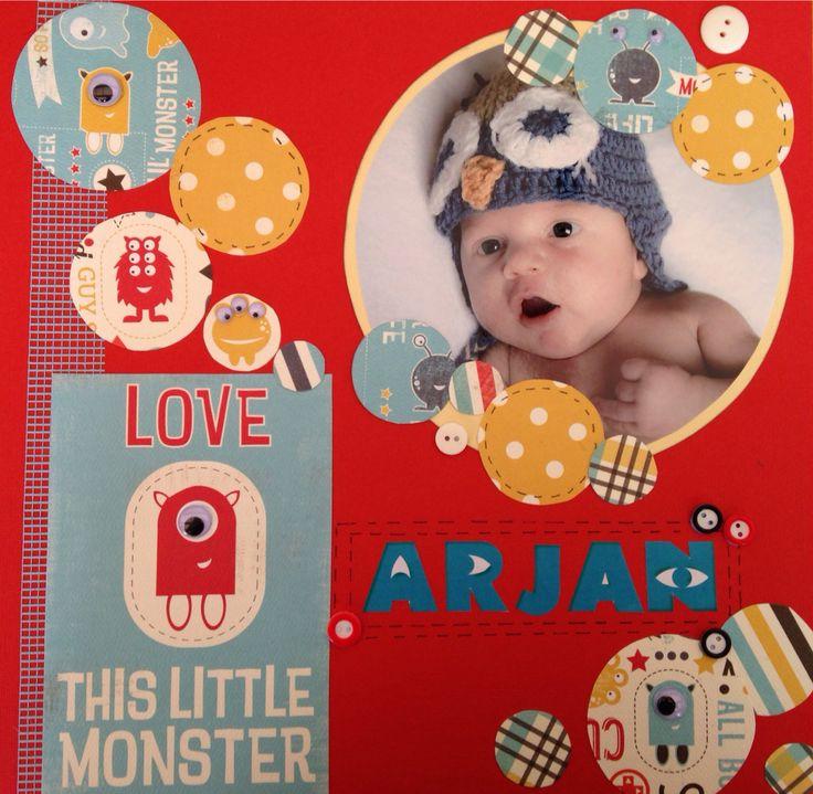 Love this little monster