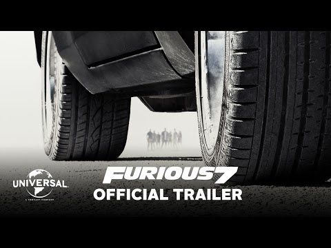 Fast and Furious 7 Official Trailer - FULL SUPER EXCITED - yes I love the F&F franchise :)