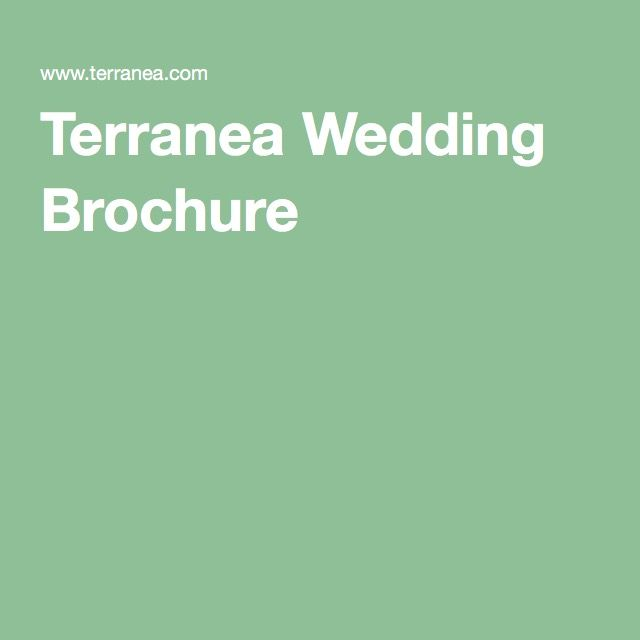 Terranea Wedding Brochure