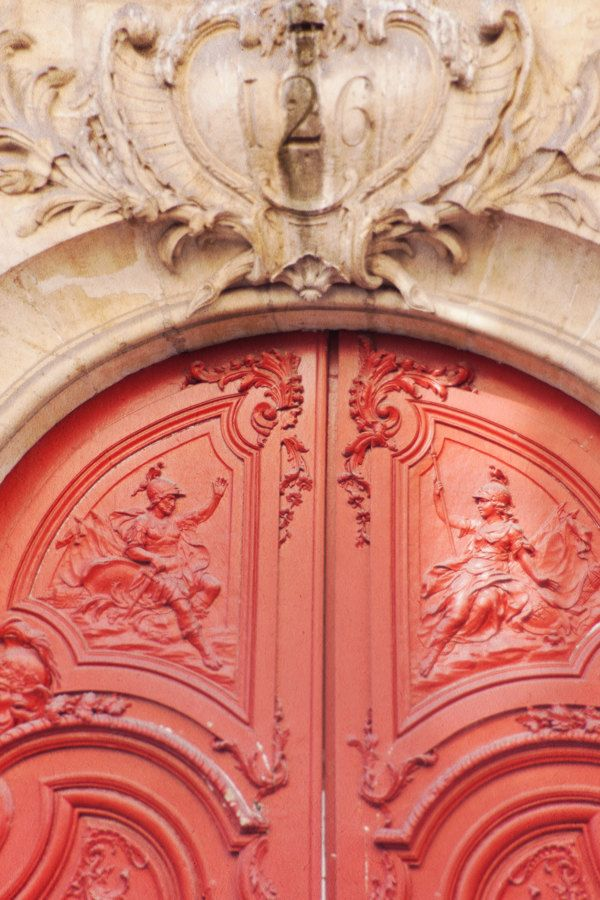 Door Detail Paris