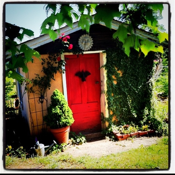 113 best gardenhouses sheds greenhouses outhouses images for Garden shed jokes
