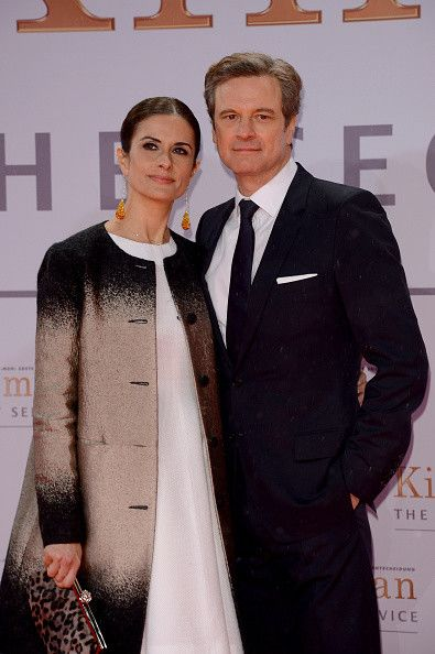 Livia Giuggioli  and Colin Firth attend 'Kingsman - The Secret Service' German Premiere at CineStar on February 3, 2015 in Berlin, Germany.  (Photo by Luca Teuchmann/WireImage)