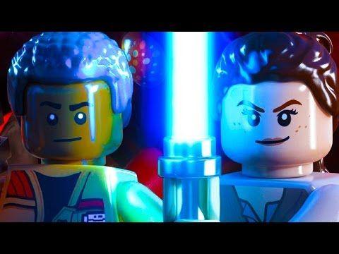 Pelicula completa de LEGO Star Wars: Force Awakens juntando todas las escenas y gameplay del juego para ps4 en Español