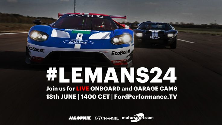 Ford GT LIVE at Le Mans 2016 | Onboards, Garage, Timing and Radio Le Man...
