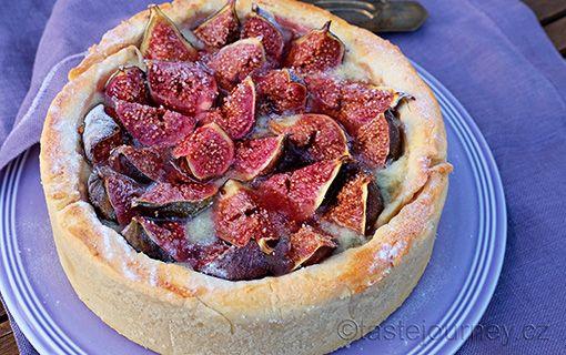 Fíkový+koláč+s+gorgonzolou.+Překvapivé+souznění+chutí