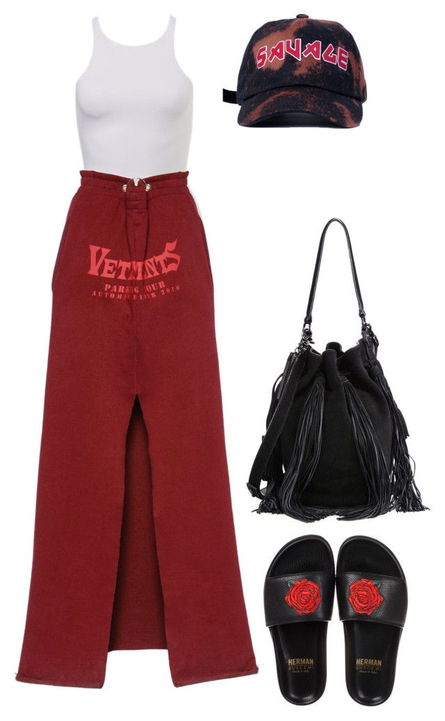 """""""Untitled #706"""" by luxeyfaux ❤ liked on Polyvore featuring Vetements, BUSCEMI and Loeffler Randall"""