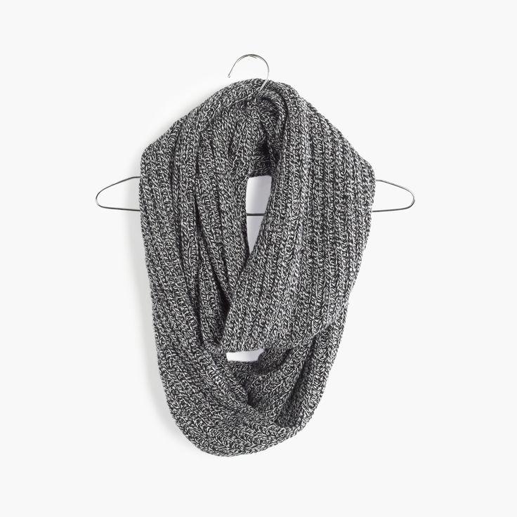 holiday gift pick: madewell softish ribbed circle scarf. #giftwell