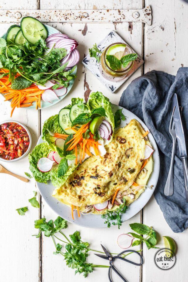 Veganes Bánh Xèo - www.eat-this.org