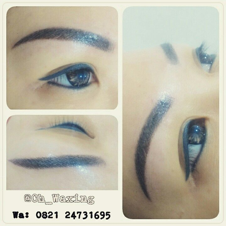 Eyebrows framed your face. You don't put beautiful picture in ugly frame. Find me on IG @oh_waxing