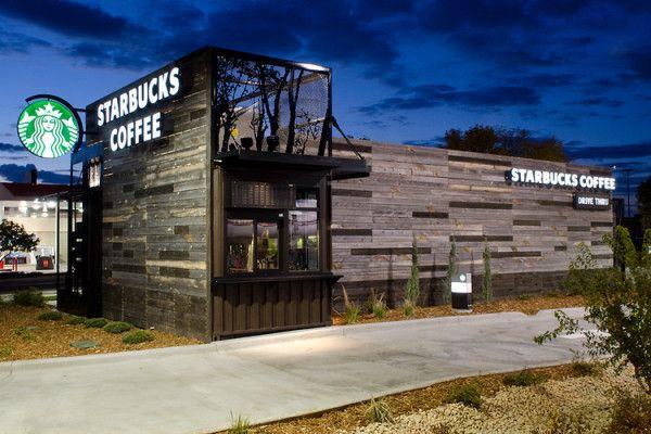Unique Modular Starbucks Store - Wave Avenue