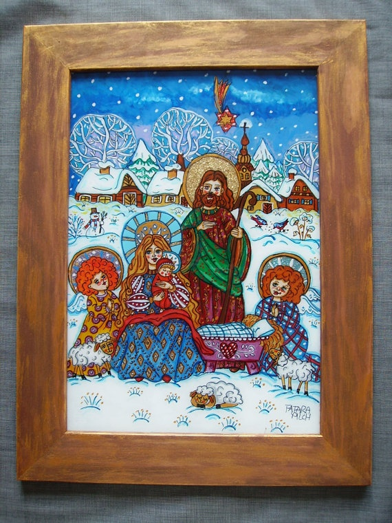 1000 Images About Art Christmas Paintings On Pinterest