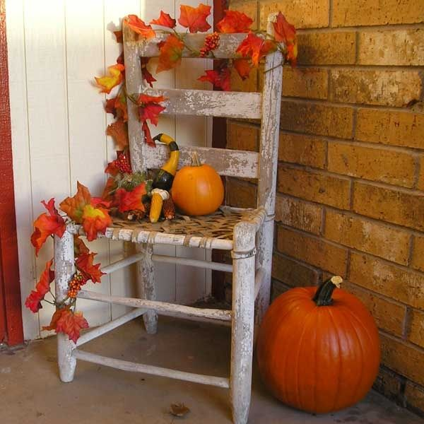 17 best ideas about outside fall decorations on pinterest for Home goods fall decorations