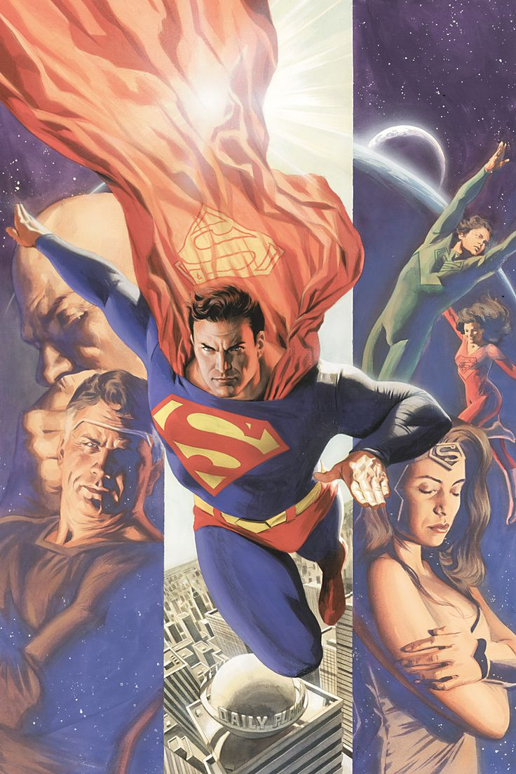 Superman - The Last Family of Krypton by Alex Ross