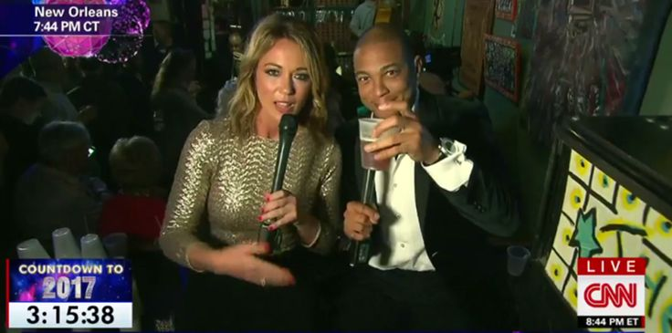 Don Lemon Gets Drunk, Ear Pierced On Live TV #BrookeBladwin, #CNN, #DonLemon