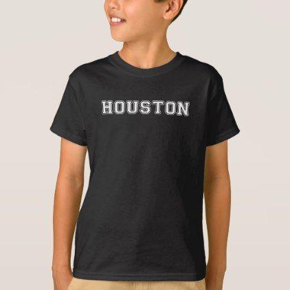#Houston Texas T-Shirt - #cool #kids #shirts #child #children #toddler #toddlers #kidsfashion