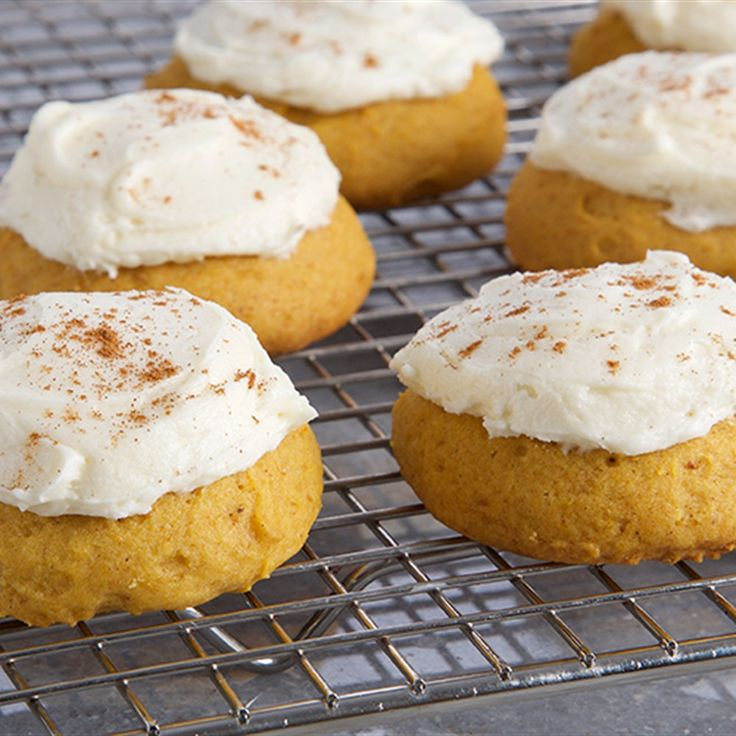 Try this Pumpkin Spice Cake Cookies recipe by Chef Anna Olson. This recipe is from the show Bake With Anna.