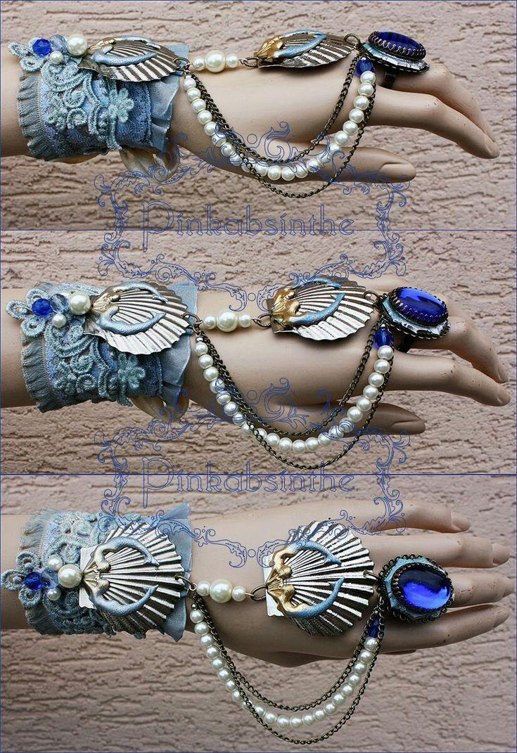 Mermaids hand jewelry