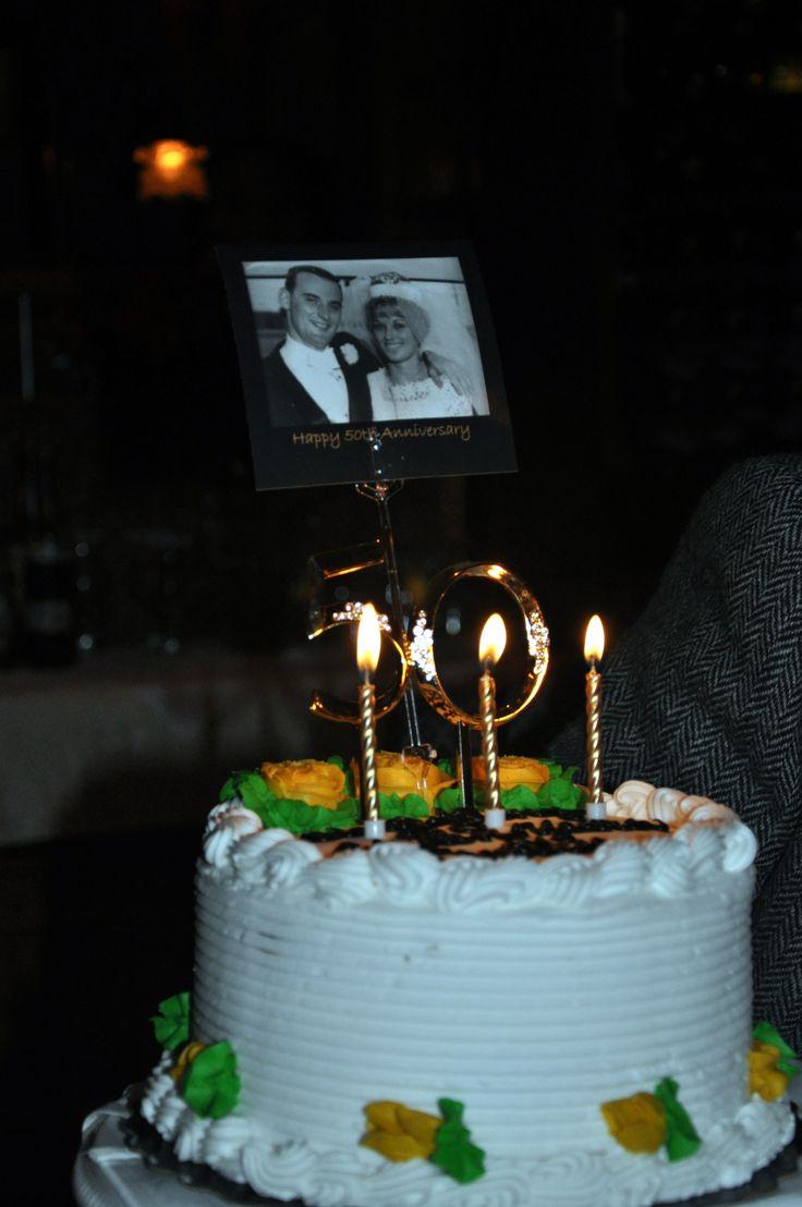 Cake with wedding photo