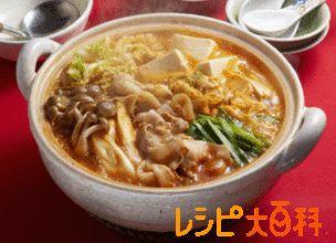 ピリ辛キムチ鍋