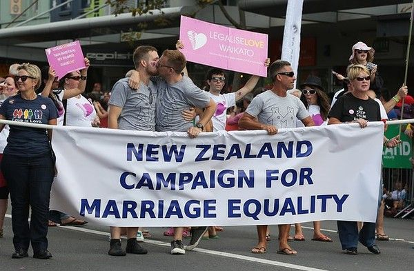 GAY WEDDINGS DENMARK | New Zealand Just Became the 13th in the World to Legalize Gay Marriage