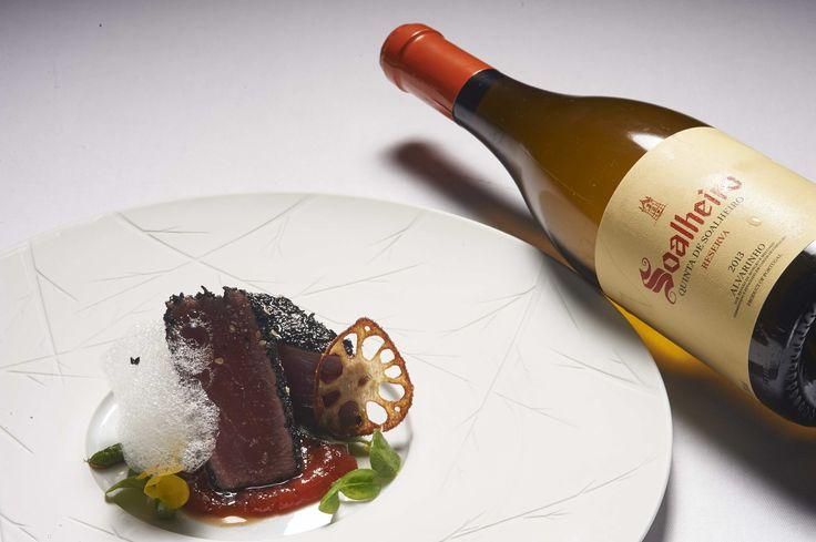 Reserve tempo para um sabor intenso…. Make time for an intense flavour 😊 #Alvarinho
