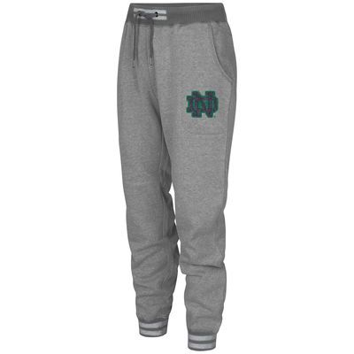 Notre Dame Fighting Irish Colosseum Women's Ski Lodge Varsity Jogger Pants - Gray