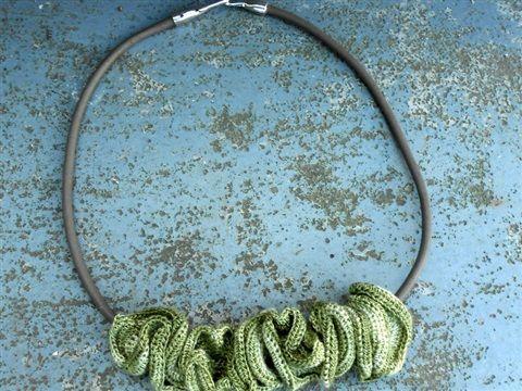 Gehaakte juwelen - www.franfaluca.be