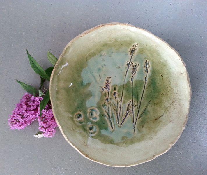♥♥♥ Teller- Lavendel ♥♥♥ von art-mate auf DaWanda.com
