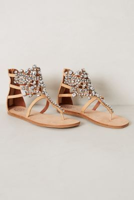 Diamant Sandals from Anthro for a beach wedding.
