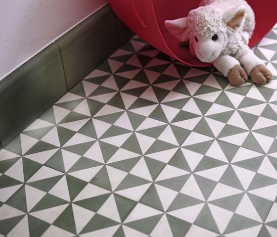 10453_200 Standard assortment cement tiles by VIA | Concrete/cement flooring | Concrete/cement: floor tiles