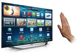 "Awesome New Samsung UN55ES8000 55"" 1080P 3D TV! This TV features Samsung's new Smart Interaction Technology! I want one!"