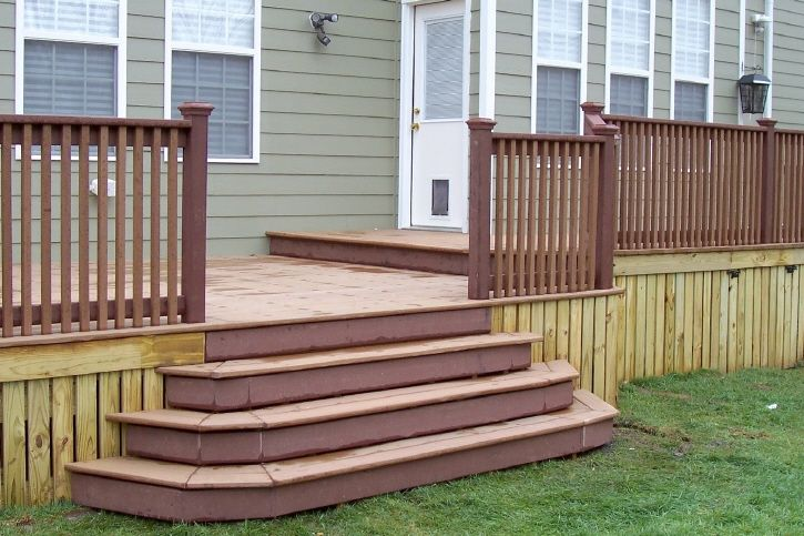 12 best stairways images on pinterest deck steps wrap for How to build box steps