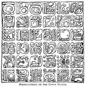 Mayan Hieroglyphics: Glyphs Majske Pismo, American Civilizations ...